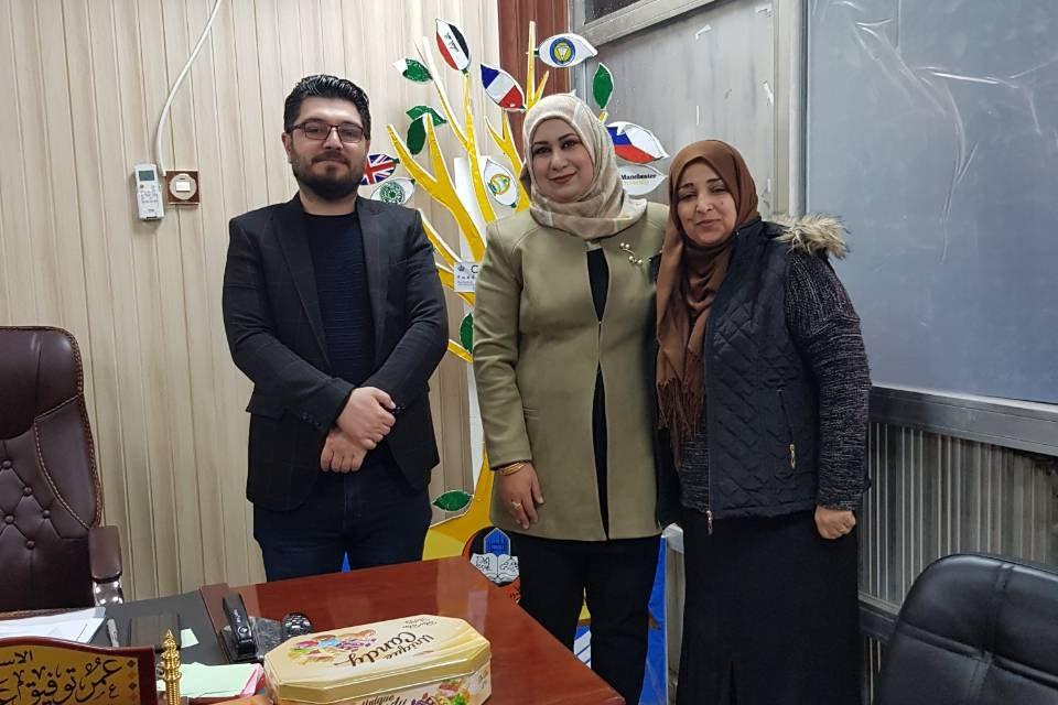 تعاون مشترك بين مكتبتنا المركزية ومكتبة جامعة الموصل
