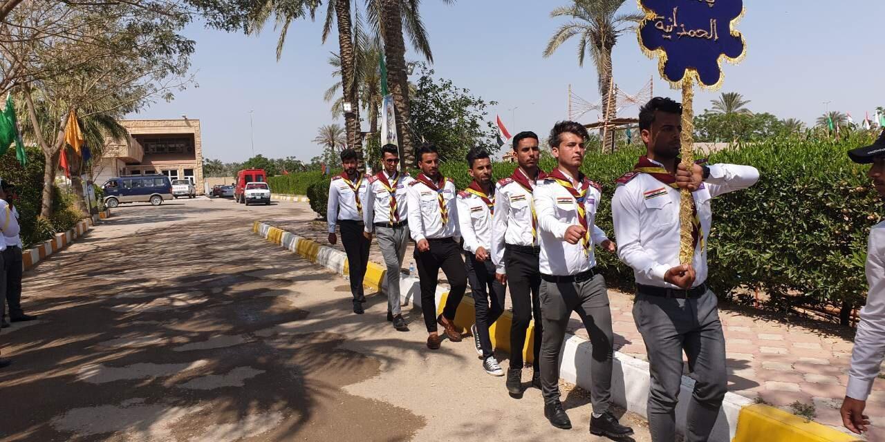 جامعتنا تشارك في فعاليات المخيم الكشفي السادس لجوالة الجامعات العراقية